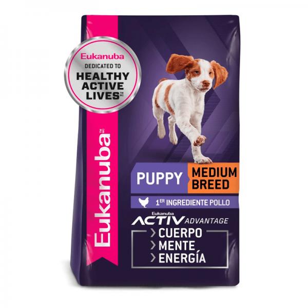 eukanuba puppy medium 2,3 kg