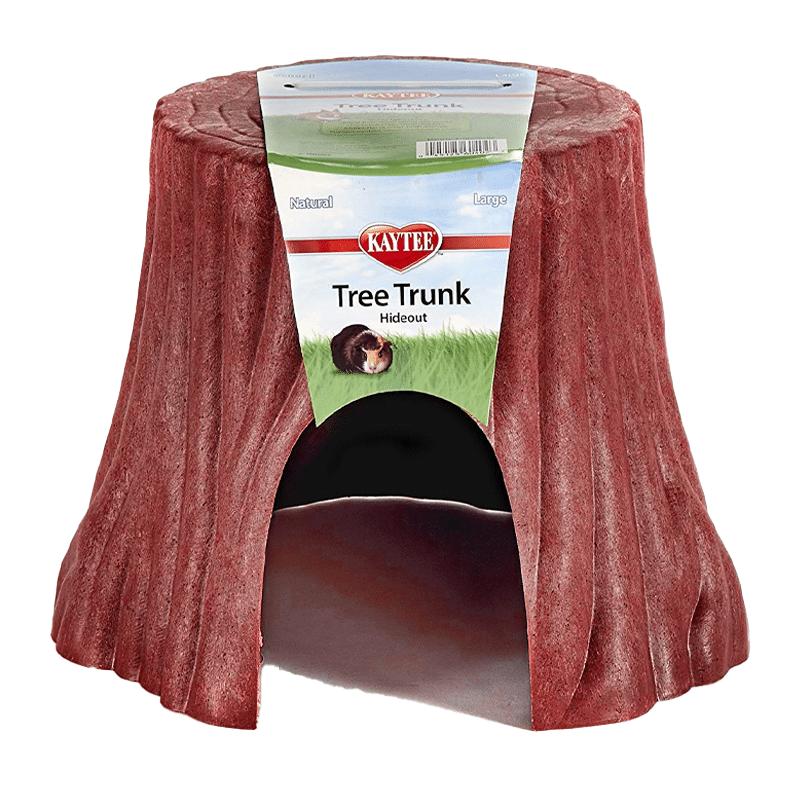 Árbol de refugio rojo para pequeños animales - L - Kaytee