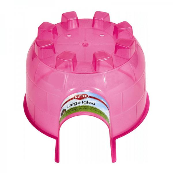 Kaytee Igloo rosa para Mascotas - Giant