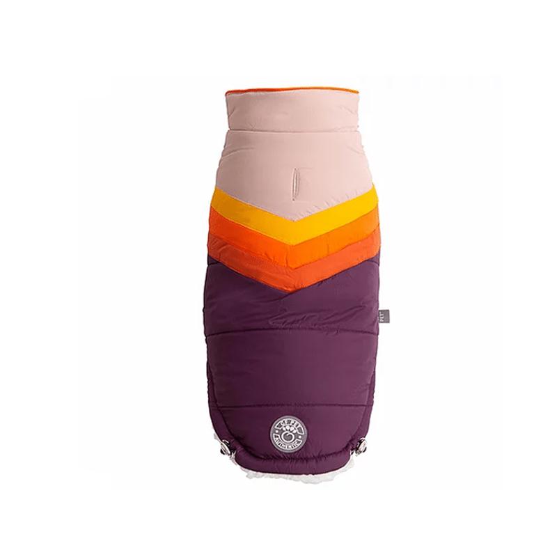 Chaqueta Summit Puffer Purpura XL - GF PET