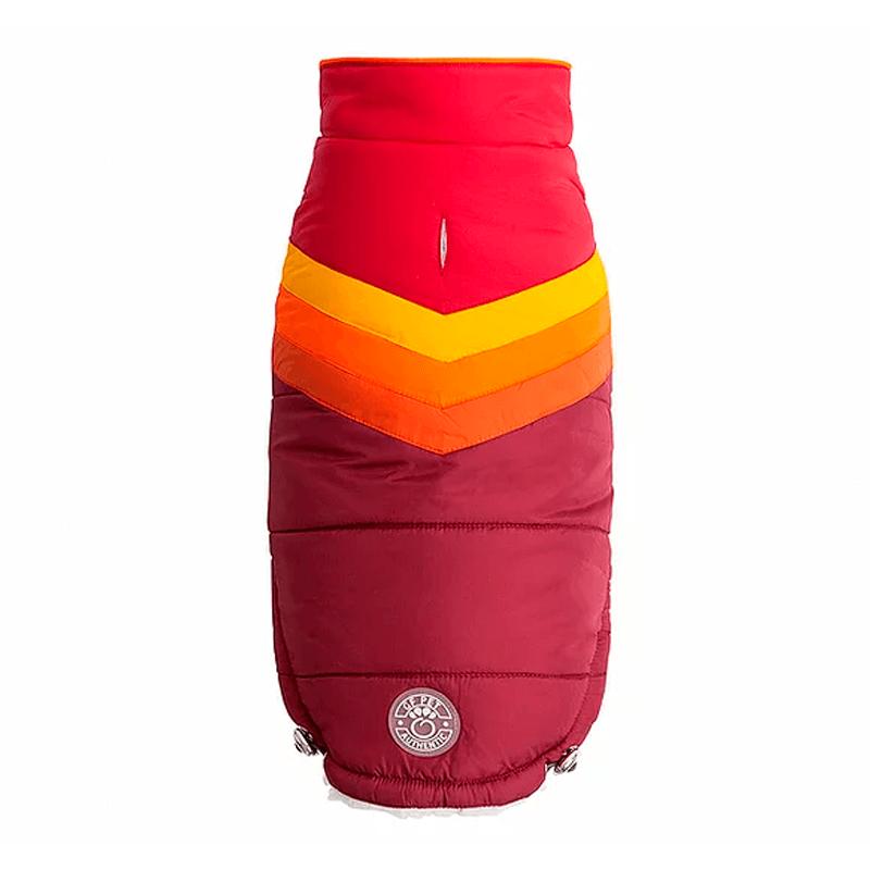 Chaqueta Summit Puffer Rojo 3XL- GF PET