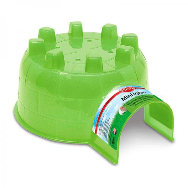 Igloo verde para mascotas mini – Kaytee