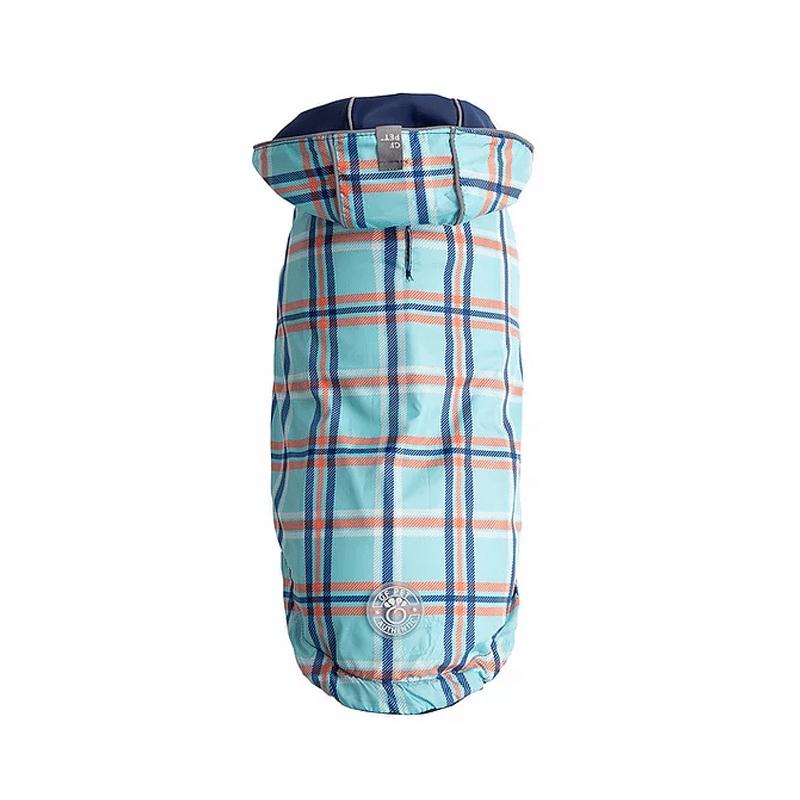 Impermeable Reversible color Azul- Talla S-GF PET