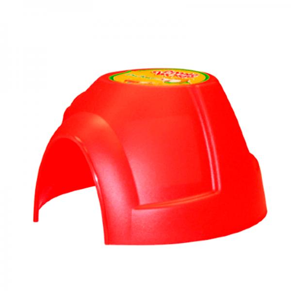 casa iglu rojo