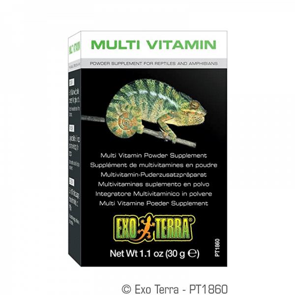 Suplemento Multivitamínico Reptil - Anfibio 30 gr