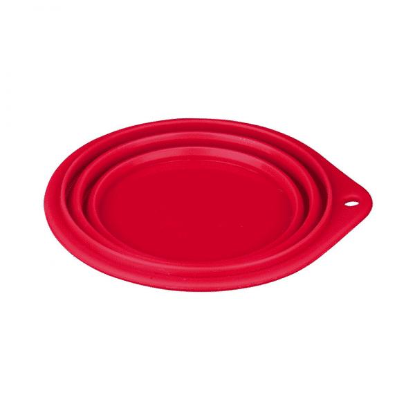 Plato Para Viaje Rojo 0.5L Trixie