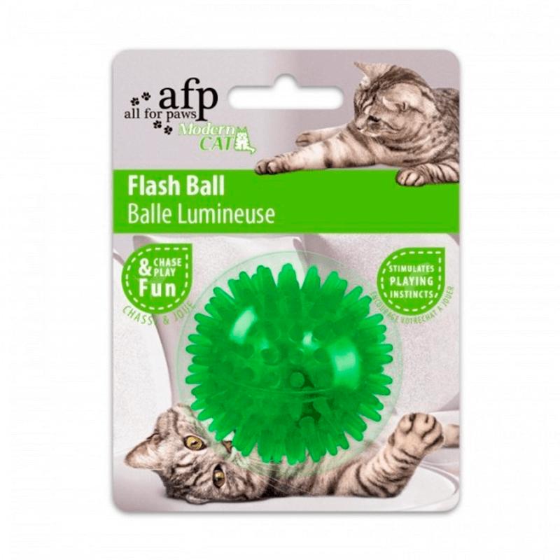 AFP Modern Cat Flash Ball Color Verde