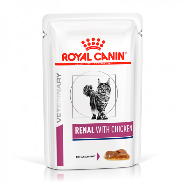 Pouch Renal Felino Chicken 85 gr