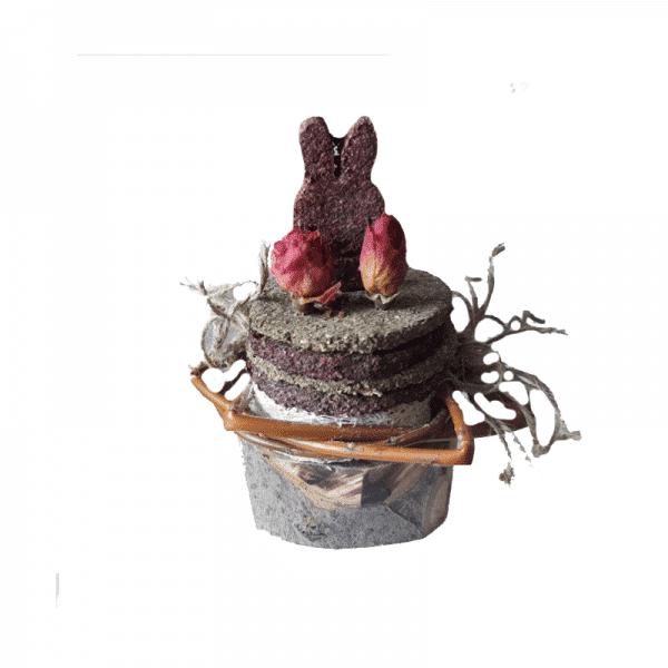 Pastel Bunny celebration - La Granja de Conejinos