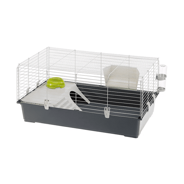 Jaula Cage Rabbit 100 Gris Oscuro - FerplastJaula Cage Rabbit 100 Gris Oscuro - Ferplast