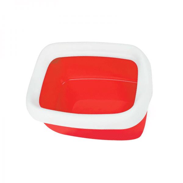 Bandeja sanitaria con marco L Betta Rojo