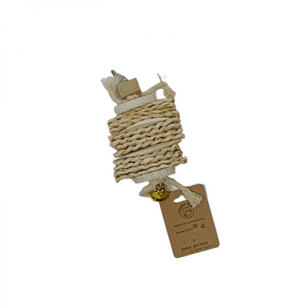 Bloque de troncos + pieza de lufa+ teji